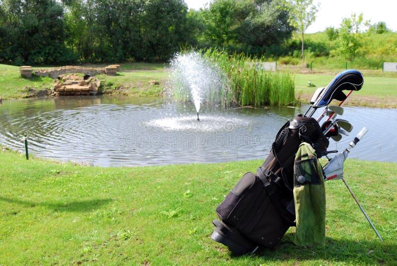 De zak van het golf stock foto's