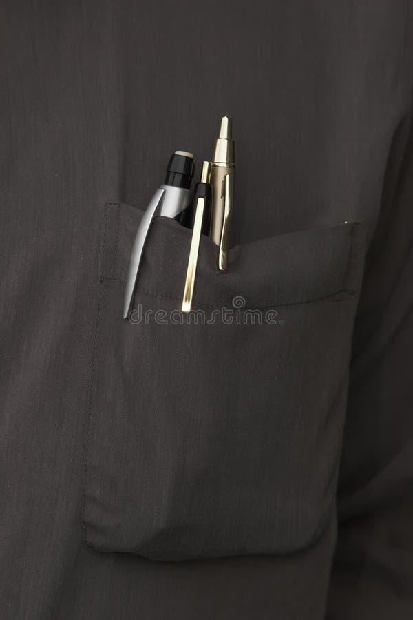 De zak van het overhemd stock fotografie