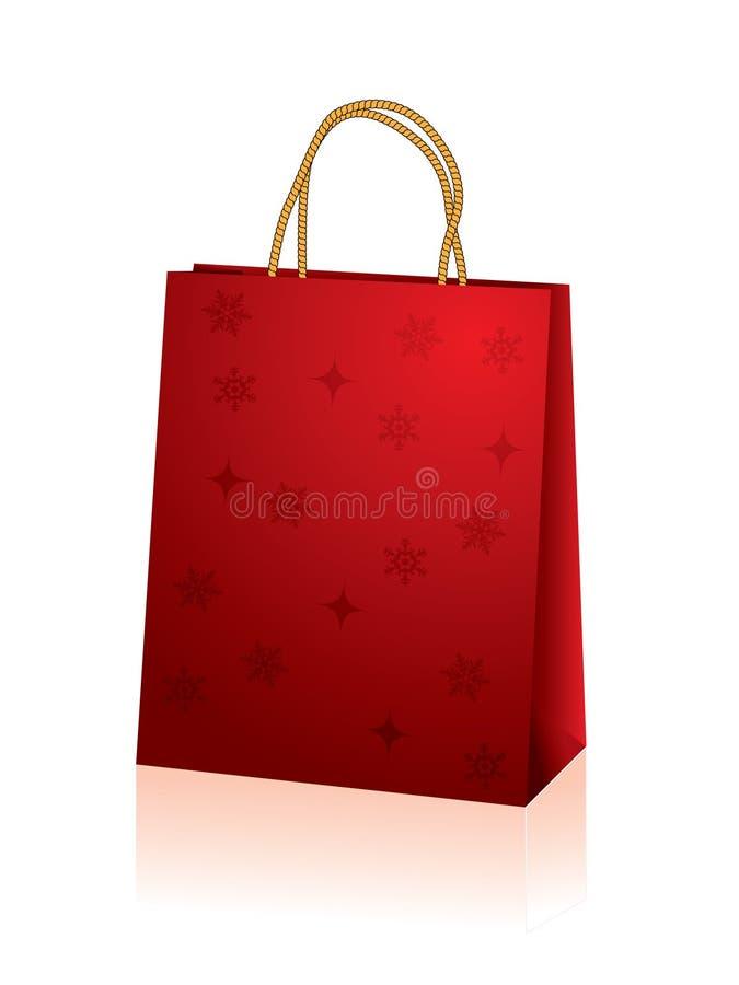 De zak van Kerstmis vector illustratie
