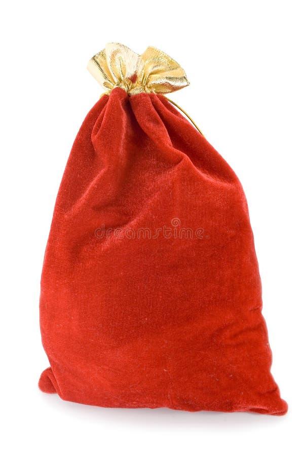 De zak van Kerstmis met heden royalty-vrije stock foto