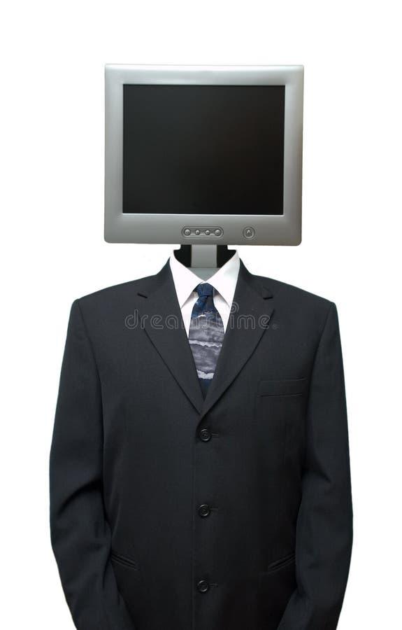 De Zaken Geïsoleerd Internet van Technolgy van de computer stock afbeeldingen
