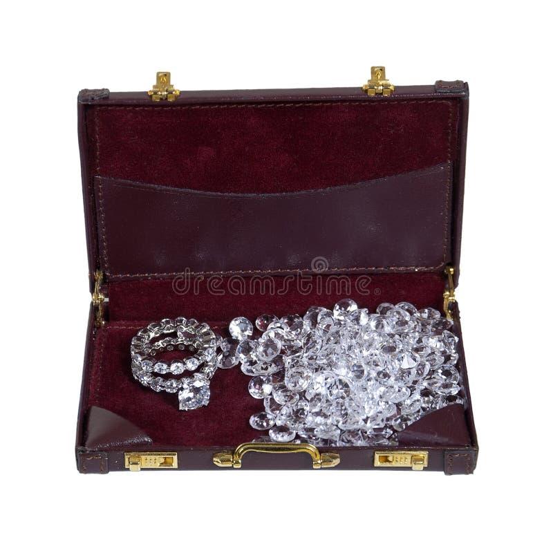 De Zaken van de diamant stock foto