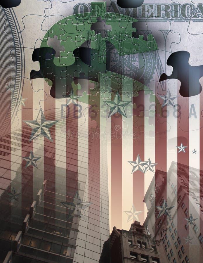 De Zaken van de V.S. royalty-vrije illustratie