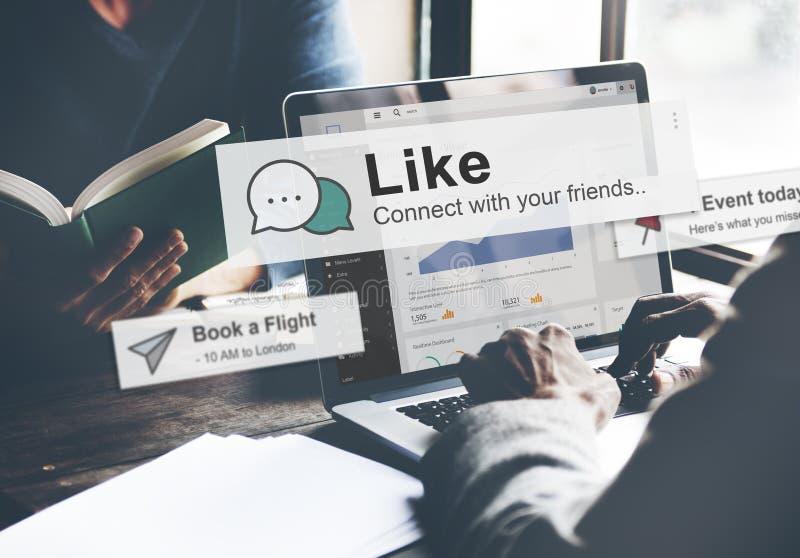 De zakenlieden zoeken SEO Connection Internet Website Concept royalty-vrije stock foto's