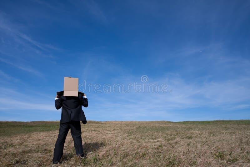 De zakenman van de levering royalty-vrije stock afbeelding