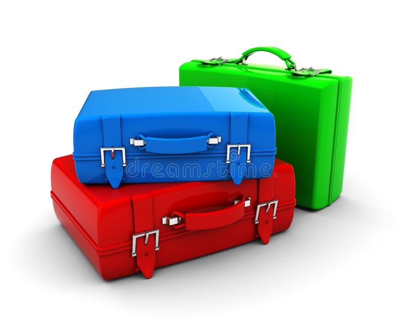 De zakken van de reis stock illustratie