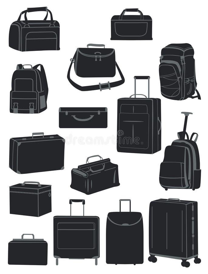 De zakken van de reis vector illustratie