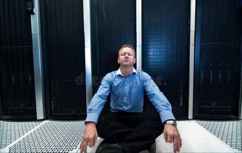 De zaligheid van Datacenter stock foto's