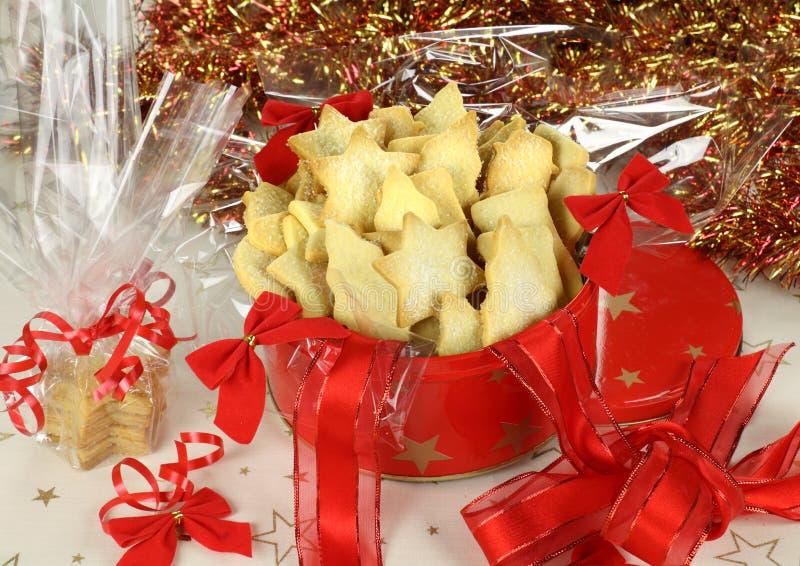 De Zandkoek van Kerstmis stock foto's