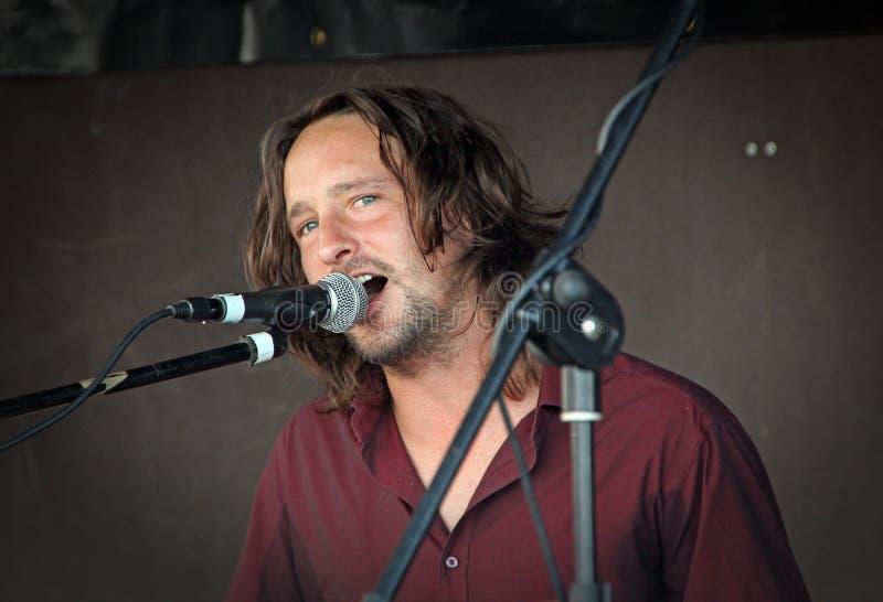De zanger van Benmolens stock fotografie