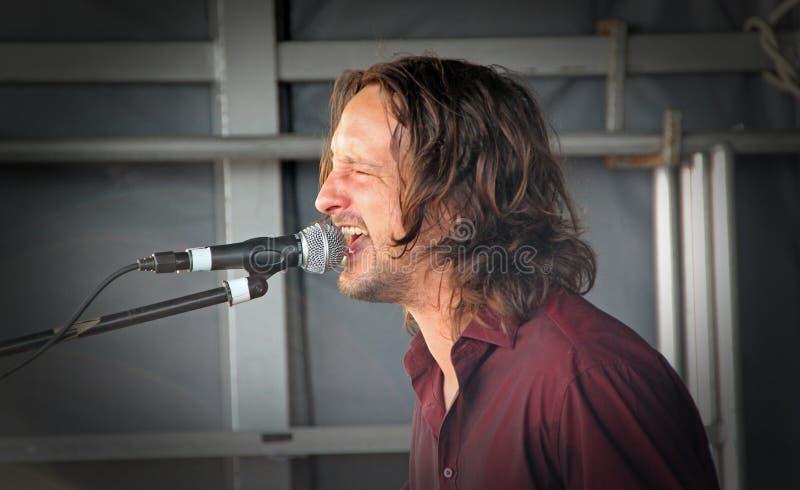 De zanger van Benmolens stock foto