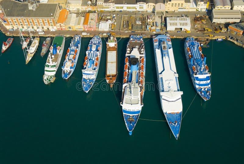De zeehaven royalty-vrije stock foto