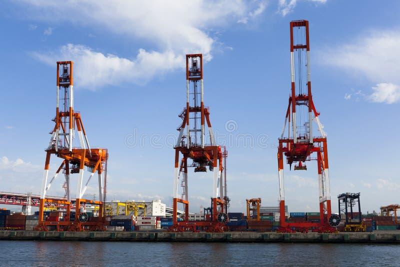 De zeehaven van Osaka royalty-vrije stock afbeeldingen