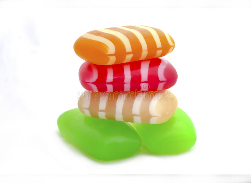 De zeep van de kleur stock afbeelding