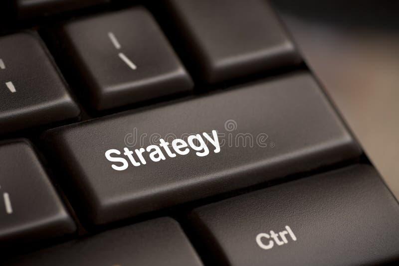 De zeer belangrijke knoop van de strategie royalty-vrije stock afbeeldingen