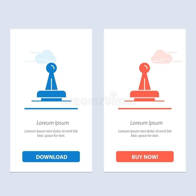 De zegel, Goedkeuring, Wettelijke Instantie, Teken, Rubber, verzegelt Blauwe en Rode Download en koopt nu de Kaartmalplaatje van  royalty-vrije illustratie