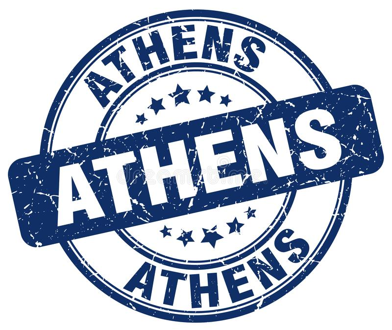 De zegel van Athene royalty-vrije illustratie
