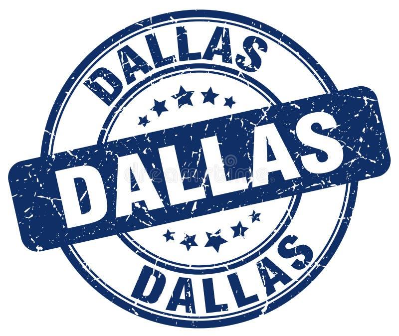 De zegel van Dallas royalty-vrije illustratie