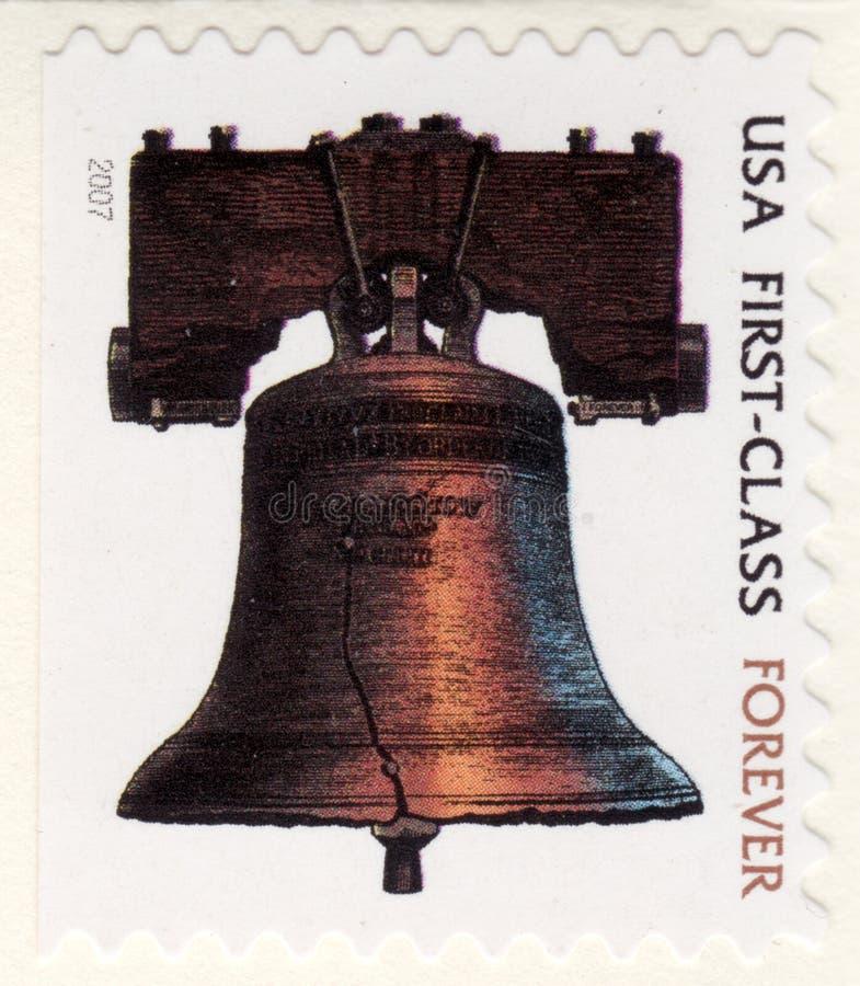 De Zegel van de Klasse van de V.S. Eerste voor altijd royalty-vrije stock afbeelding