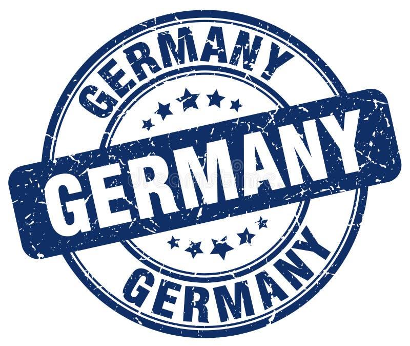 De zegel van Duitsland royalty-vrije illustratie