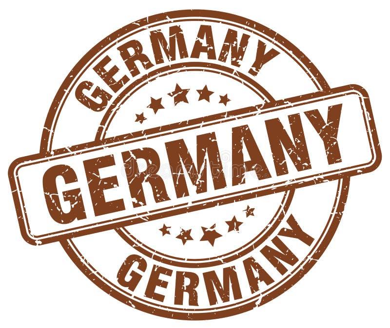 De zegel van Duitsland stock illustratie
