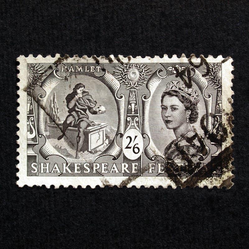 De Zegel van het Festival van Shakespeare stock fotografie