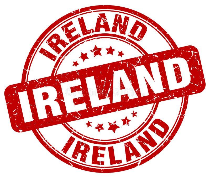De zegel van Ierland vector illustratie