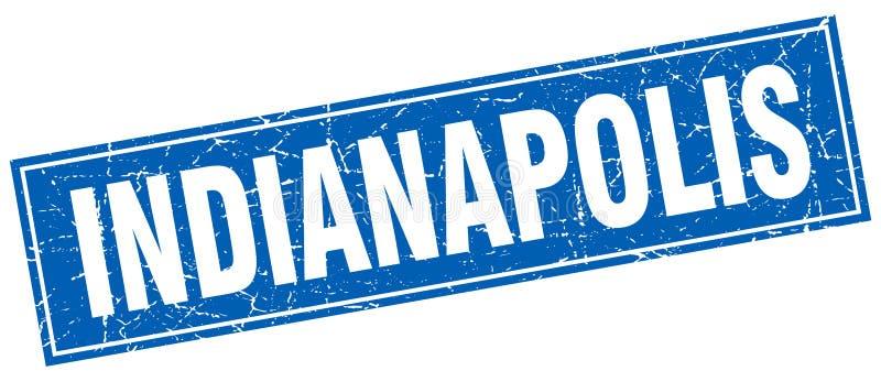 De zegel van Indianapolis stock illustratie