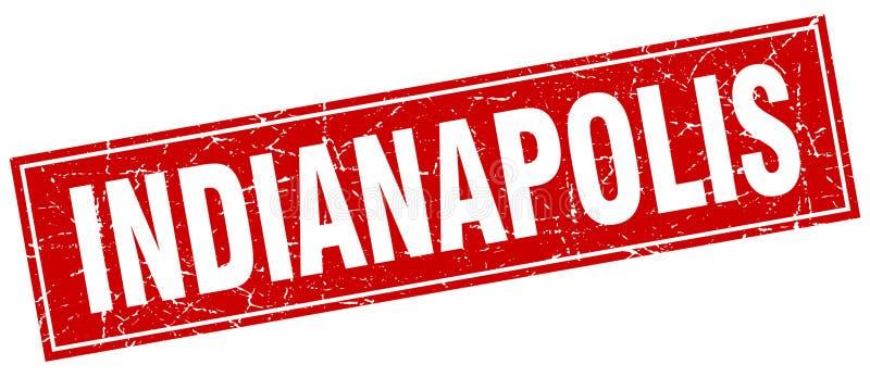 De zegel van Indianapolis vector illustratie