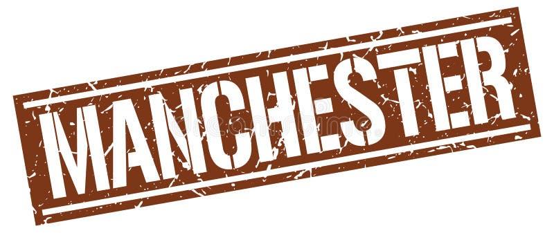 De zegel van Manchester vector illustratie
