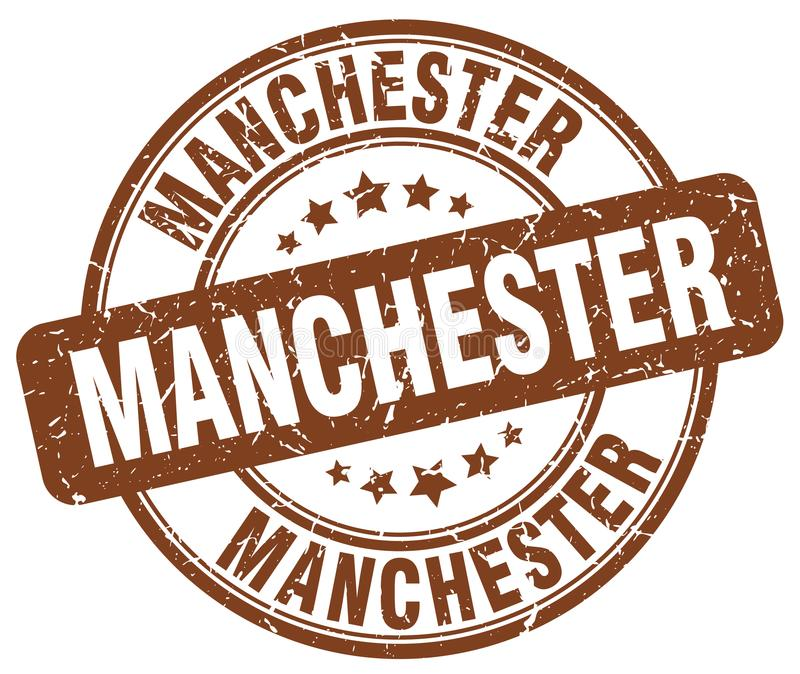 De zegel van Manchester royalty-vrije illustratie