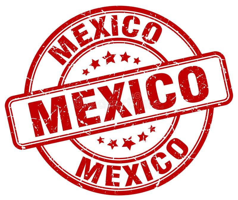 De zegel van Mexico vector illustratie