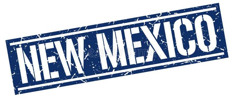 De zegel van New Mexico stock illustratie