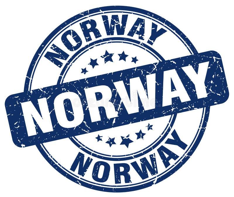 De zegel van Noorwegen vector illustratie
