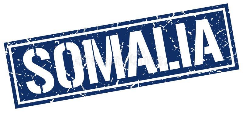 De zegel van Somalië vector illustratie