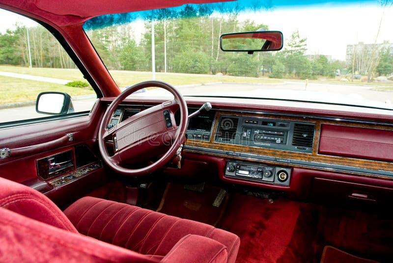 De zetel van de bestuurder   royalty-vrije stock foto