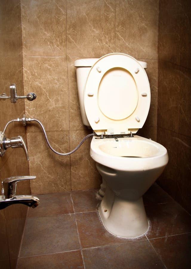 De zetel van het toilet royalty-vrije stock afbeeldingen