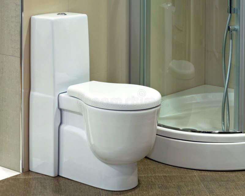 De zetel van het toilet stock foto