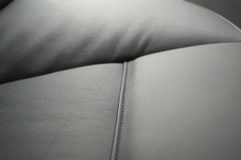 De zetels van de auto stock foto's