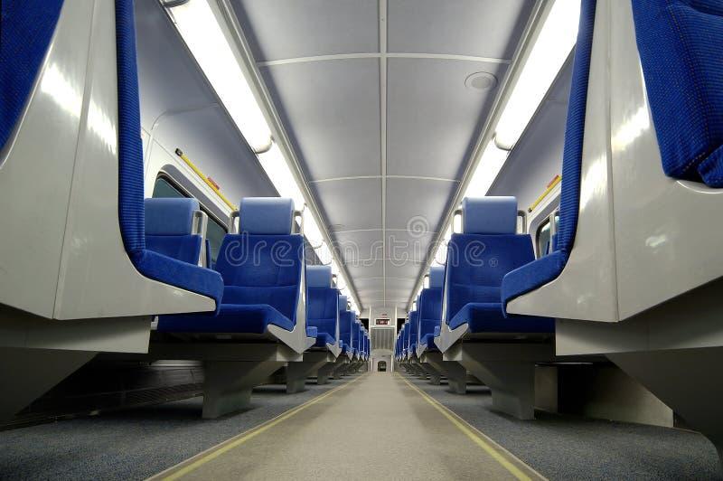 De Zetels van de trein royalty-vrije stock foto