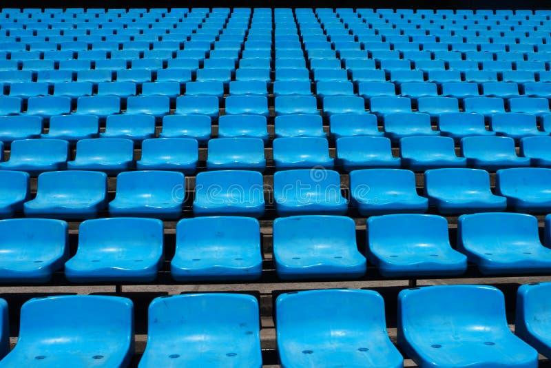 De Zetels van het stadion royalty-vrije stock fotografie