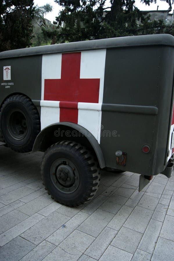 De Ziekenwagen van de V.S. stock afbeelding
