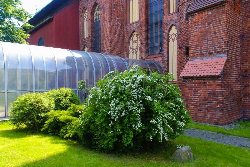De Zijingang van de Konigsbergkathedraal royalty-vrije stock afbeelding