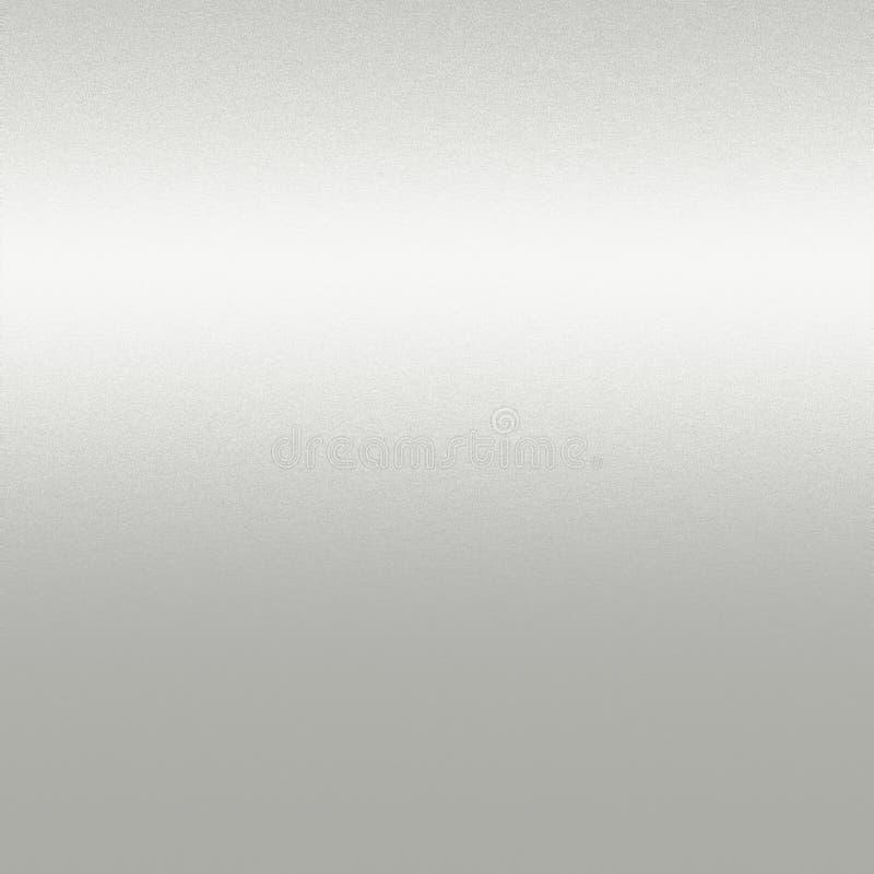 De zilveren achtergrond van de witmetaaltextuur stock fotografie