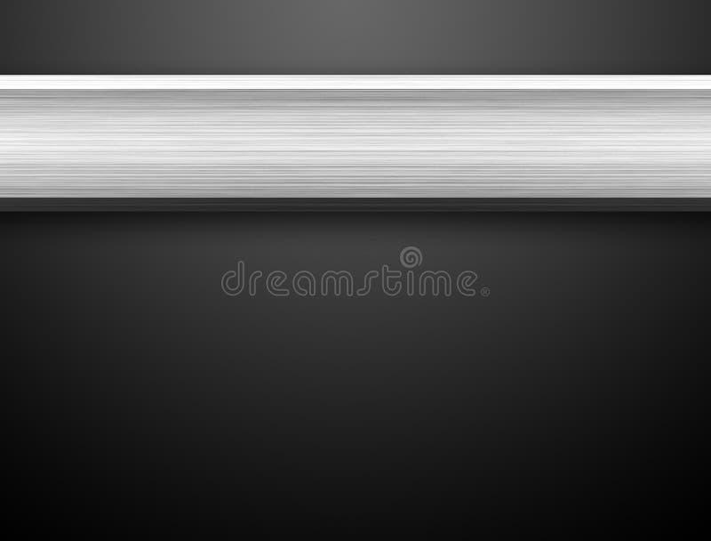 De Zilveren Staaf van het aluminium stock illustratie