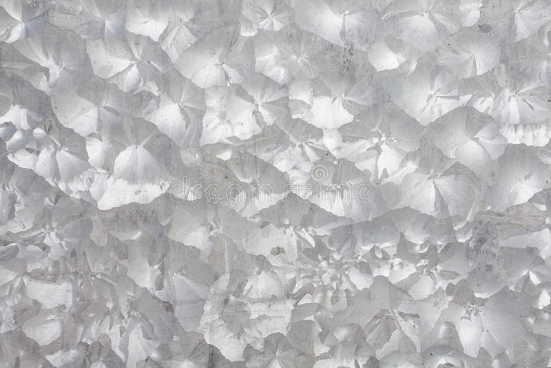 De zink gegalvaniseerde textuur van het ijzermetaal stock afbeeldingen