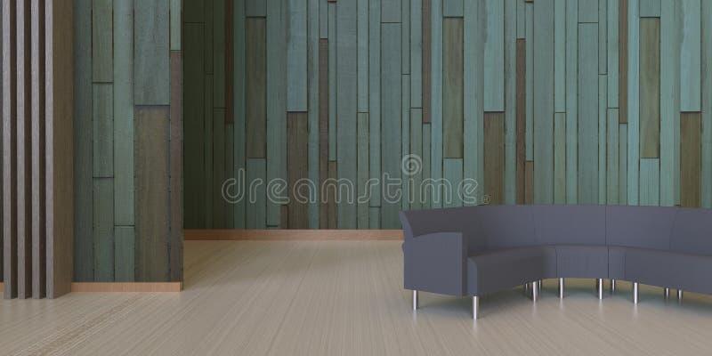 De zitkamer en een koffiewinkel en ontspannen gebieden stock foto's