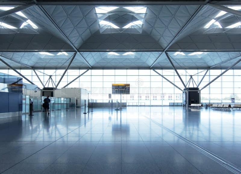 De zitkamer van de luchthaven