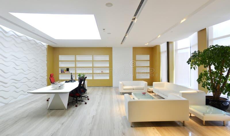 De zitkamer van het bureau