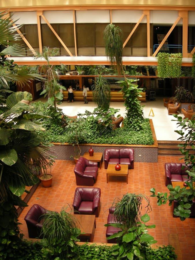 De zitkamer van het hotel royalty-vrije stock afbeeldingen